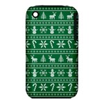 Ugly Christmas Apple iPhone 3G/3GS Hardshell Case (PC+Silicone)
