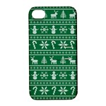 Ugly Christmas Apple iPhone 4/4S Hardshell Case with Stand