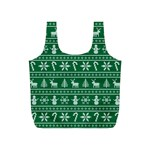Ugly Christmas Full Print Recycle Bags (S)