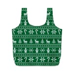 Ugly Christmas Full Print Recycle Bags (M)