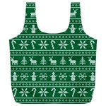 Ugly Christmas Full Print Recycle Bags (L)