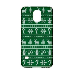 Ugly Christmas Samsung Galaxy S5 Hardshell Case  by Onesevenart