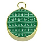 Ugly Christmas Gold Compasses