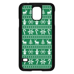 Ugly Christmas Samsung Galaxy S5 Case (black) by Onesevenart