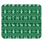 Ugly Christmas Double Sided Flano Blanket (Small)