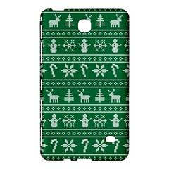 Ugly Christmas Samsung Galaxy Tab 4 (8 ) Hardshell Case  by Onesevenart
