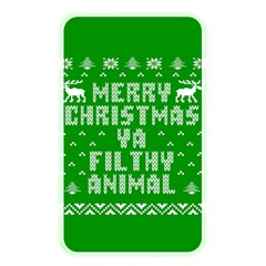 Ugly Christmas Ya Filthy Animal Memory Card Reader by Onesevenart