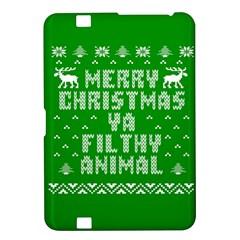 Ugly Christmas Ya Filthy Animal Kindle Fire Hd 8 9  by Onesevenart