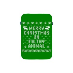 Ugly Christmas Ya Filthy Animal Apple Ipad Mini Protective Soft Cases by Onesevenart