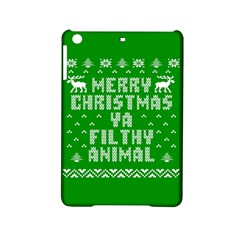 Ugly Christmas Ya Filthy Animal Ipad Mini 2 Hardshell Cases by Onesevenart