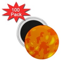 Orange Decor 1 75  Magnets (100 Pack)  by Valentinaart