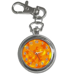 Orange Decor Key Chain Watches by Valentinaart