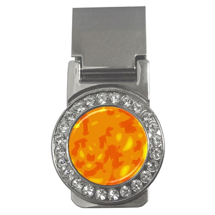 Orange decor Money Clips (CZ)