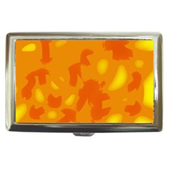Orange Decor Cigarette Money Cases