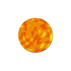 Orange Decor Golf Ball Marker (4 Pack) by Valentinaart