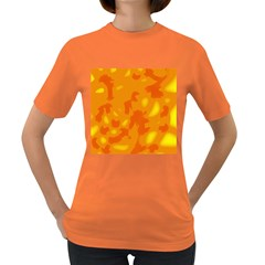 Orange Decor Women s Dark T Shirt