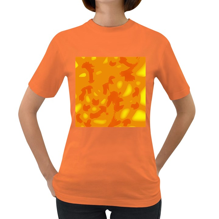Orange decor Women s Dark T-Shirt