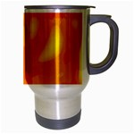 Orange decor Travel Mug (Silver Gray) Right