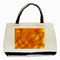 Orange Decor Basic Tote Bag (two Sides)