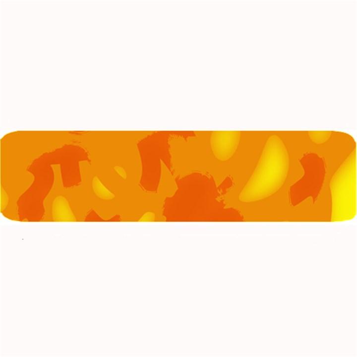 Orange decor Large Bar Mats