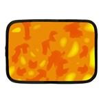 Orange decor Netbook Case (Medium)