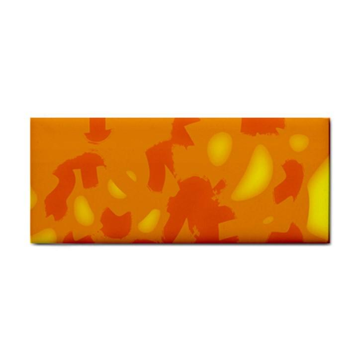 Orange decor Hand Towel