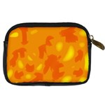 Orange decor Digital Camera Cases Back