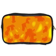 Orange decor Toiletries Bags