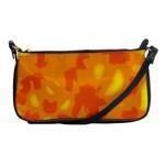 Orange decor Shoulder Clutch Bags