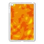 Orange decor Apple iPad Mini Case (White) Front