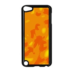 Orange Decor Apple Ipod Touch 5 Case (black) by Valentinaart