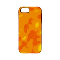 Orange Decor Apple Iphone 5 Classic Hardshell Case (pc+silicone)