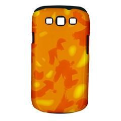 Orange decor Samsung Galaxy S III Classic Hardshell Case (PC+Silicone)
