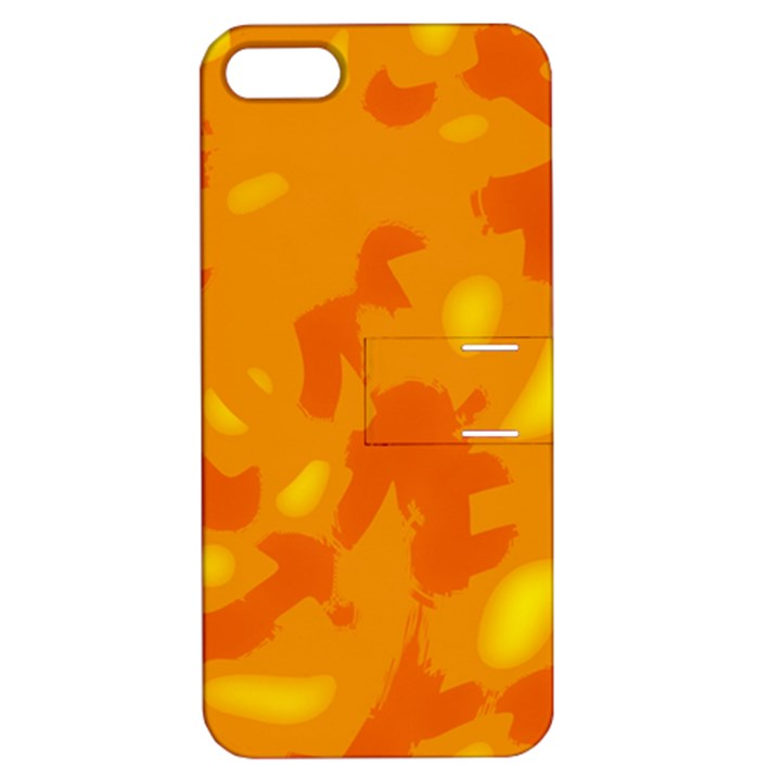 Orange decor Apple iPhone 5 Hardshell Case with Stand