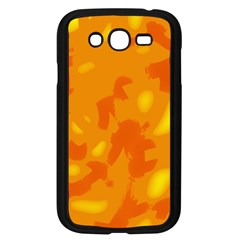 Orange Decor Samsung Galaxy Grand Duos I9082 Case (black) by Valentinaart