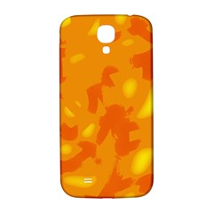 Orange Decor Samsung Galaxy S4 I9500/i9505  Hardshell Back Case by Valentinaart