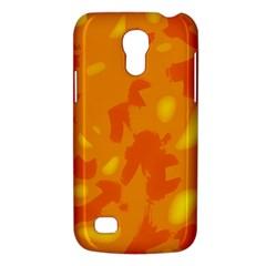 Orange Decor Galaxy S4 Mini