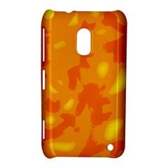 Orange Decor Nokia Lumia 620