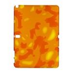 Orange decor Samsung Galaxy Note 10.1 (P600) Hardshell Case