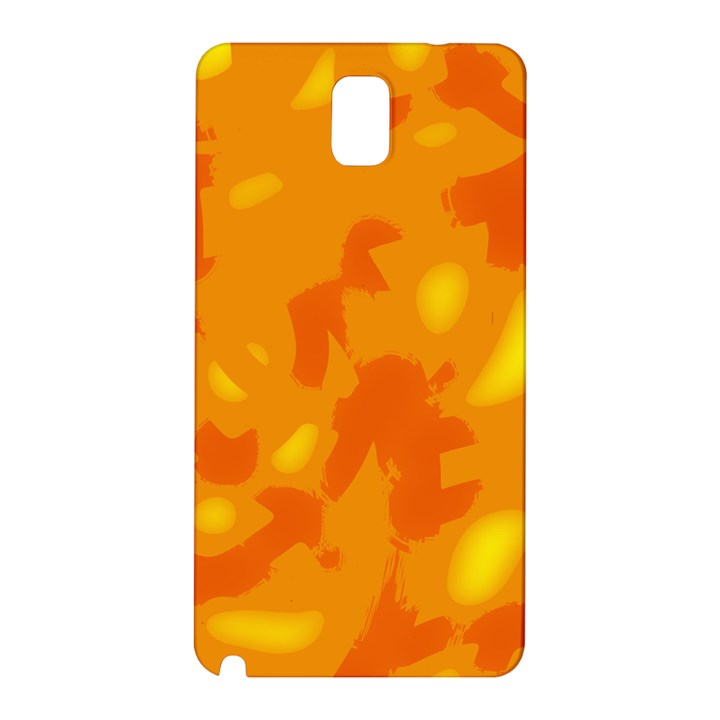 Orange decor Samsung Galaxy Note 3 N9005 Hardshell Back Case