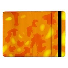 Orange decor Samsung Galaxy Tab Pro 12.2  Flip Case