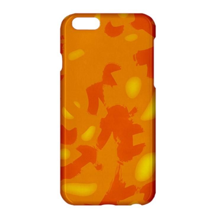 Orange decor Apple iPhone 6 Plus/6S Plus Hardshell Case