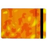 Orange decor iPad Air 2 Flip