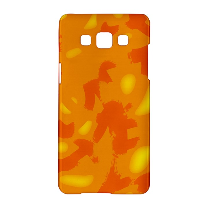 Orange decor Samsung Galaxy A5 Hardshell Case