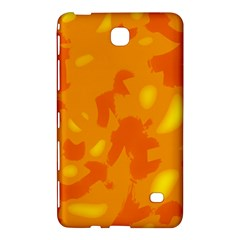 Orange Decor Samsung Galaxy Tab 4 (7 ) Hardshell Case  by Valentinaart