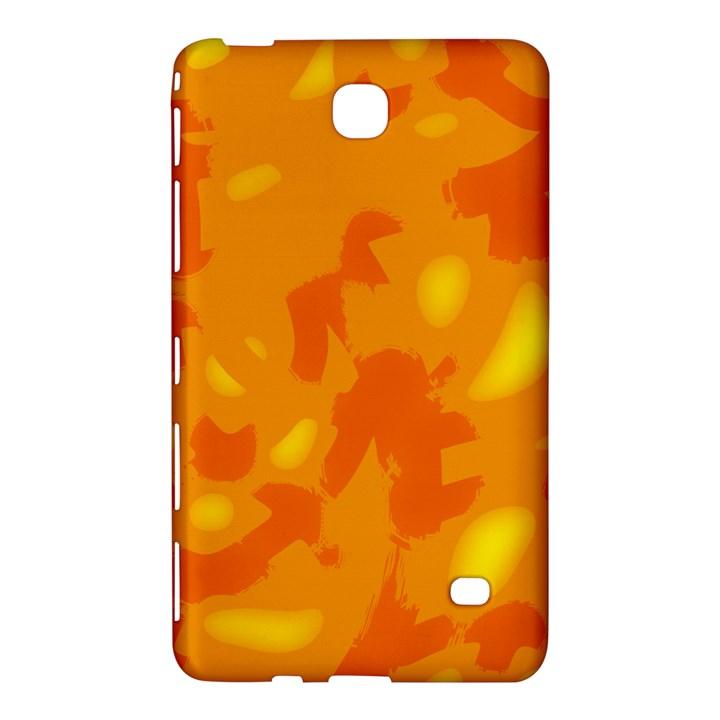 Orange decor Samsung Galaxy Tab 4 (7 ) Hardshell Case