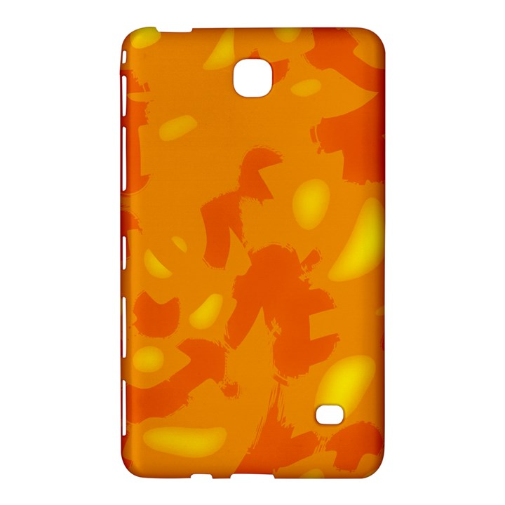 Orange decor Samsung Galaxy Tab 4 (8 ) Hardshell Case