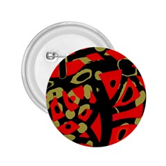 Red Artistic Design 2 25  Buttons