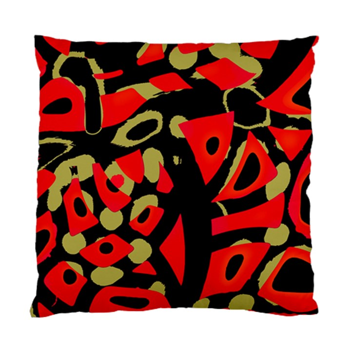 Red artistic design Standard Cushion Case (Two Sides)