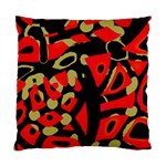 Red artistic design Standard Cushion Case (Two Sides) Back